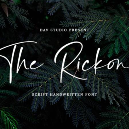 The Rickon Font