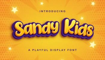 Sandy Kids Font