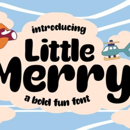 Little Merry Font